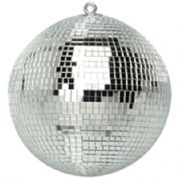 Silver Lightweight Mirror Ball